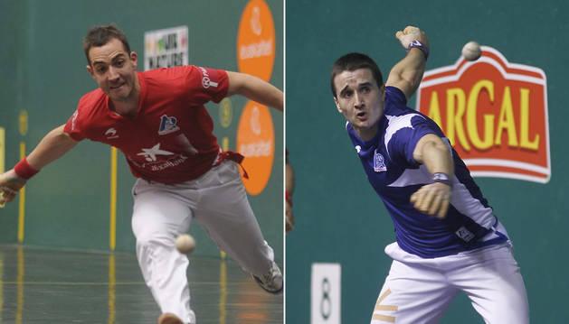 David (izquierda) y Mikel Merino,