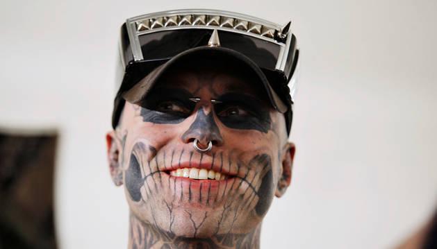 Fallece el modelo Zombie Boy, famoso por sus tatuajes de estilo cadavérico