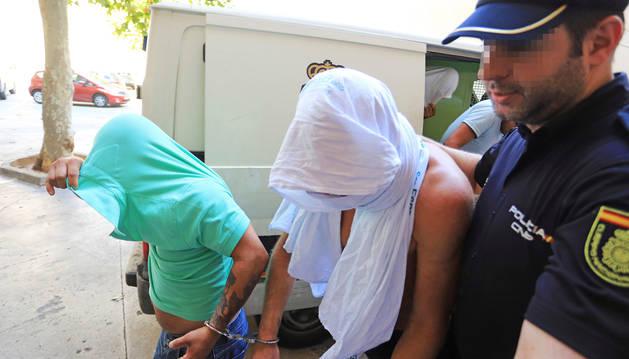 El exciclista alemán Jan Ullrich a su llegada a los juzgados tras ser arrestado este viernes.