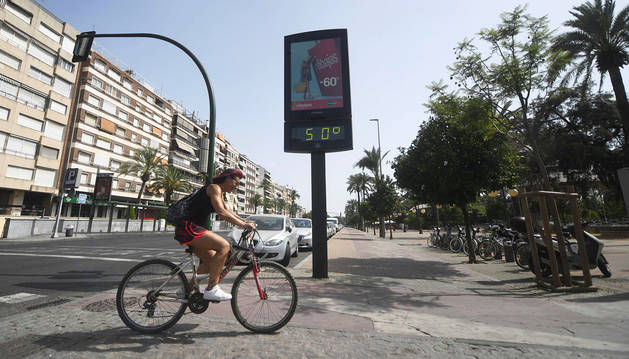 La primera ola de calor del verano se acerca a su fin