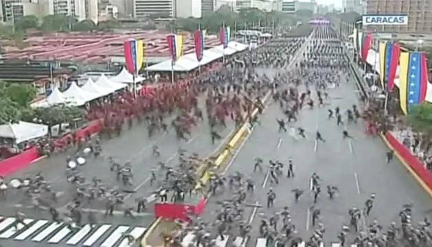 Colombia niega cualquier participación en el ataque a Maduro