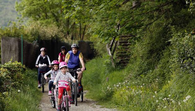 Aprobado un PSIS para la ruta ciclista que unirá Santesteban con Irurtzun