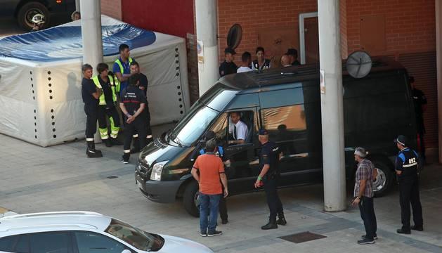 Imágenes del homicidio en San Jorge