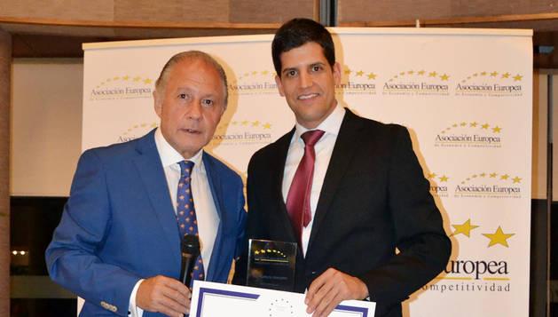 Galardón para Anteral, empresa tecnológica 'spin-off' de la UPNA