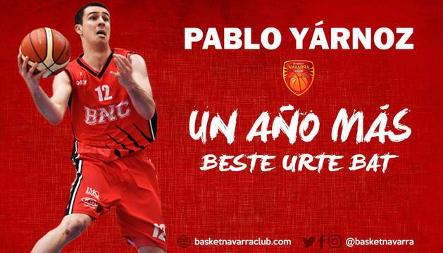 Pablo Yárnoz renueva una temporada