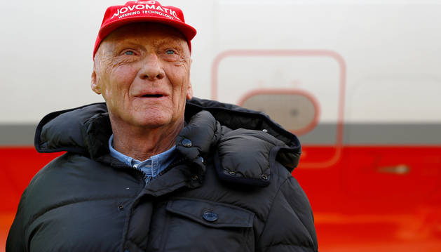 El expiloto austríaco Niki Lauda.