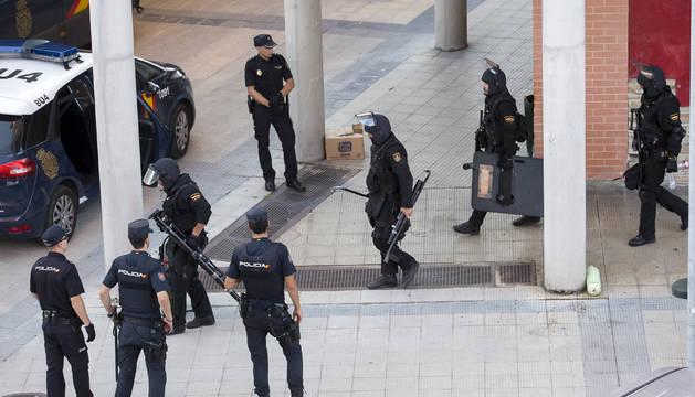El detenido en San Jorge declara que no quería matar a su suegro