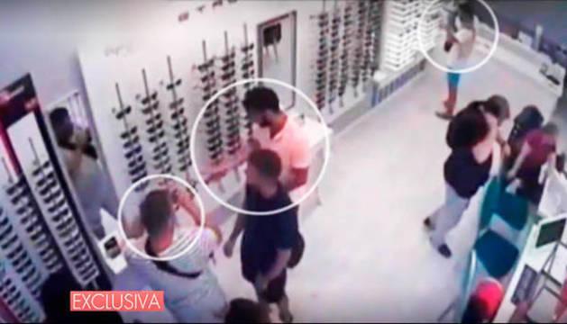 Imagen del vídeo emitido en Telecinco