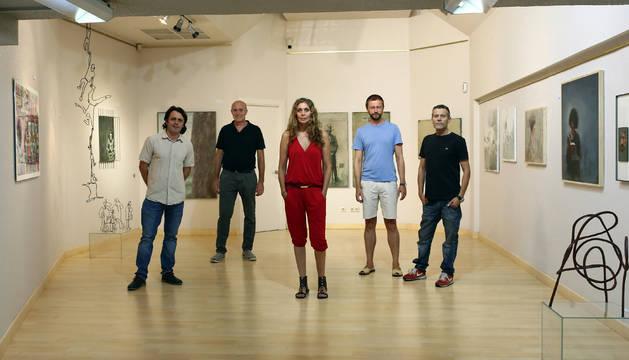 Exposición colectiva con seis nuevos artistas para la Galería Ormolú en Pamplona