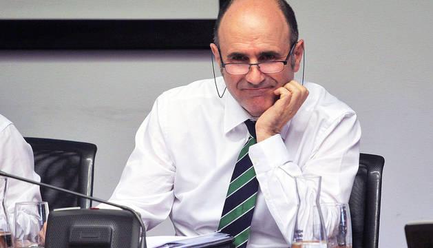 Manu Ayerdi, vicepresidente económico del Gobierno de Navarra.