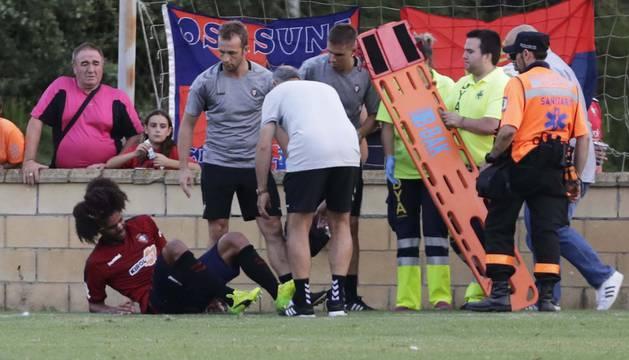 Aridane se lesiona en Marcilla