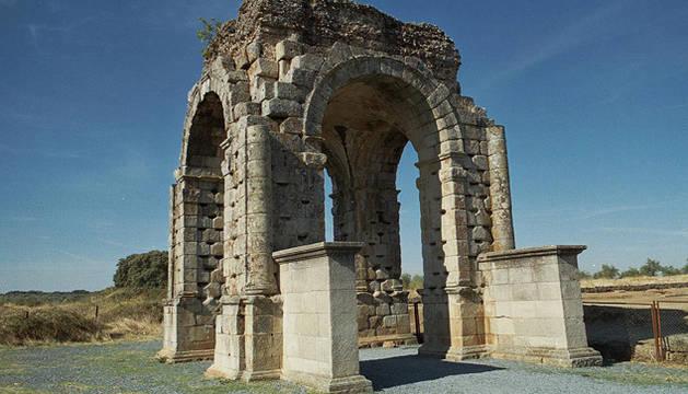 Las ruinas romanas de Cáparra, testigo de la verdad absurda de Calígula