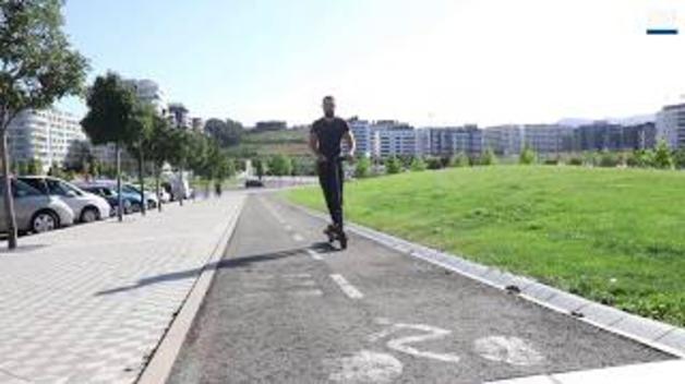 Los patinetes eléctricos llegan a Pamplona