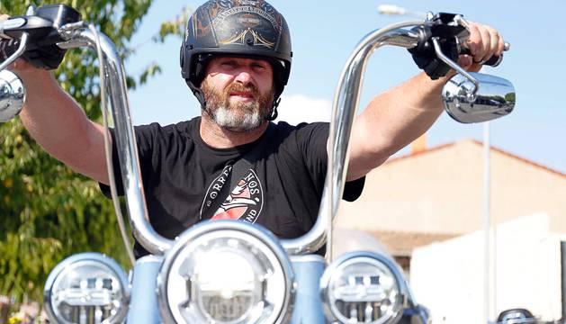 Más de 2.000 motos de España, Alemania y Francia acudieron este sábado a la apertura de la cita.