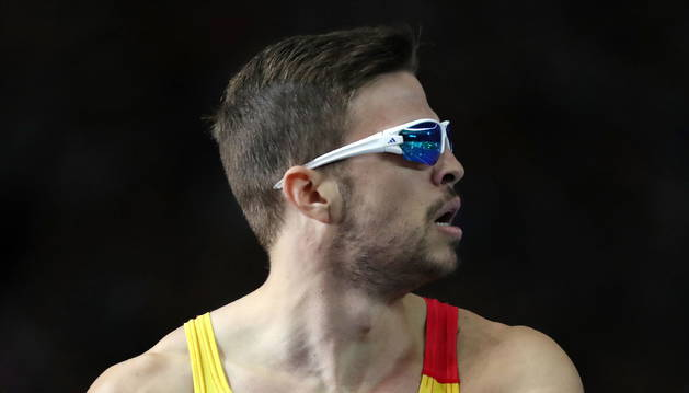 Husillos, uno de los cuatro integrantes del equipo español en la final