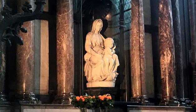 La Madonna de Brujas, un tesoro escondido en la iglesia de Nuestra Señora