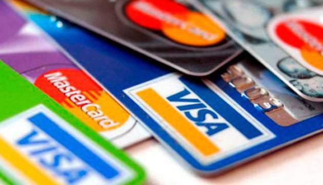 Hay 54 millones de tarjetas de crédito