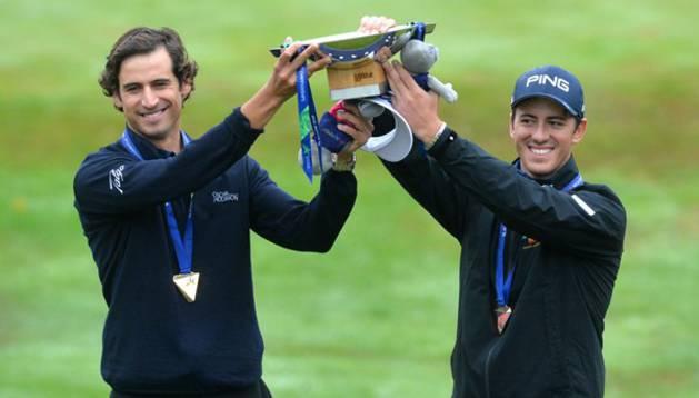 Pedro Oriol y Scott Fernández, campeones en Glasgow