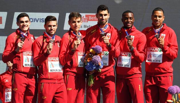 España con el bronce en maratón por relevos