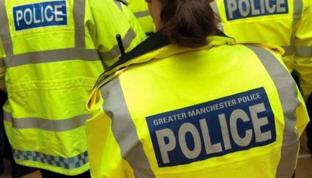 Agentes de Policía en Manchester