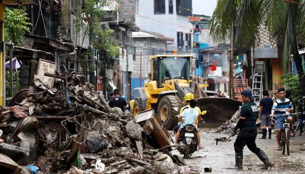 En Manila se ha declarado la alerta roja