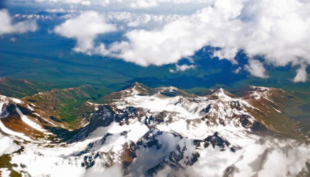 Cordillera del Pamir, en Tayikistán, donde se estrelló el helicóptero.