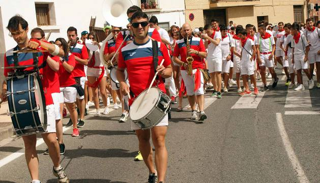 Monteagudo comenzó este martes, 14 de agosto, sus fiestas patronales en honor a San Roque.