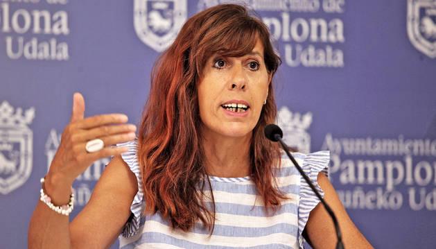 Maite Esporrín, del PSN.
