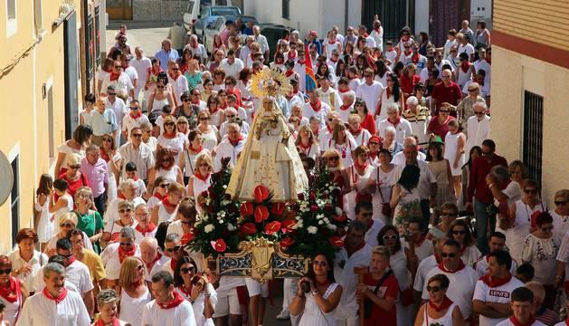 La localidad ribera vivió su segunda jornada festiva con el día dedicado a su patrona Santa Ana.