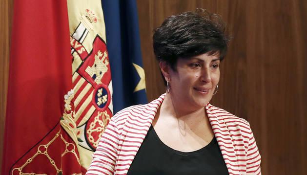 foto de La portavoz del Gobierno de Navarra, María Solana.