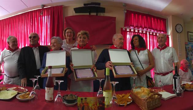 Homenaje a los veteranos en el ecuador de las fiestas