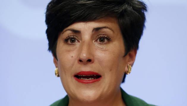 foto de María Solana, portavoz del Gobierno de Navarra.