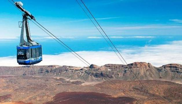 El teleférico del Teide