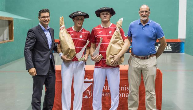 Larretche y Cambos, ganadores del Jamón en 2017