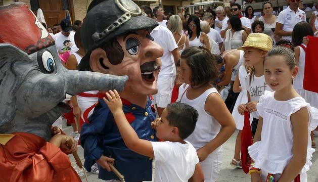 Cohete de fiestas de Miranda de Arga 2018
