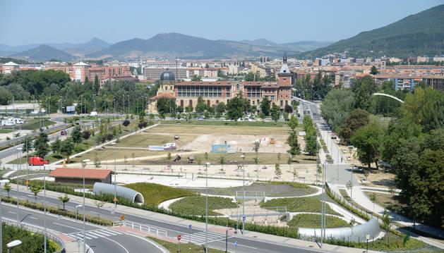 Fotos del parque de Trinitarios de Pamplona