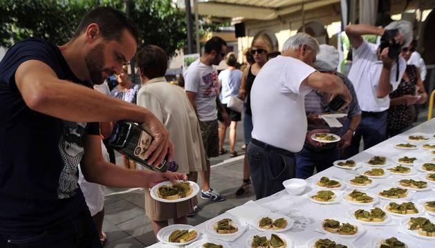Peralta ha celebrado este sábado la segunda edición del Día del pimiento cucón, autóctono de la localidad.