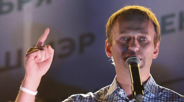 El opositor ruso Alexéi Navalni, en una imagen de archivo.