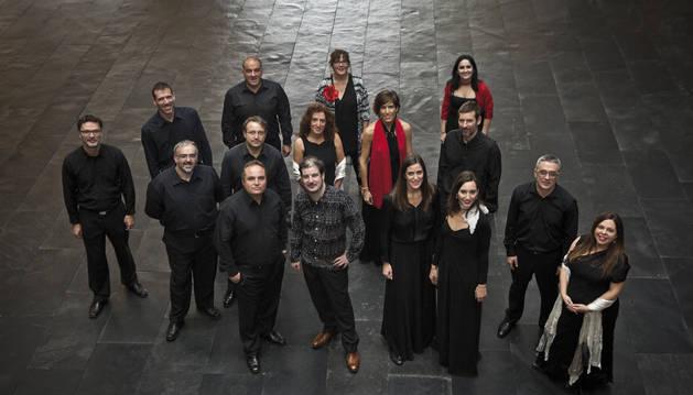 La Coral de Cámara de Navarra ofrece un concierto el sábado en la Semana de Música Antigua de Estella.