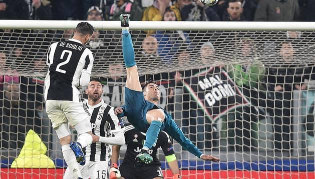 La Chilena de Ronaldo ante la Juventus