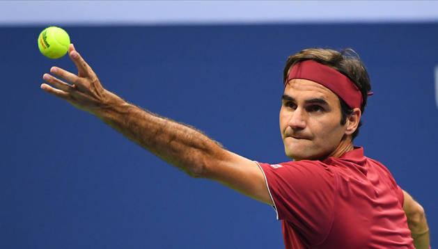 Federer en Flushing Meadows