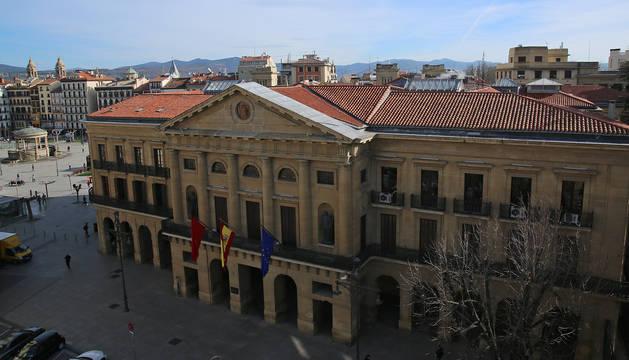 Palacio de Navarra, sede del Gobierno foral.