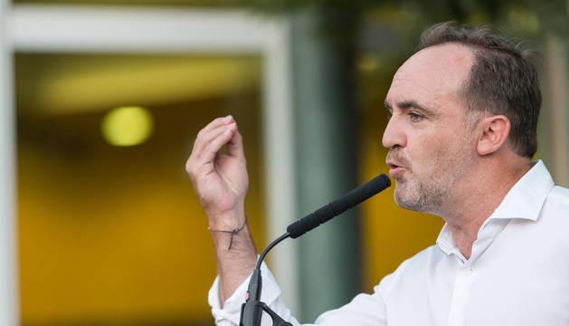 José Javier Esparza, en la apertura del curso político de UPN en Cadreita