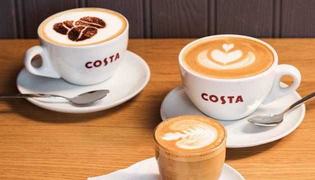 Cafés de la cadena de cafeterías Costa.