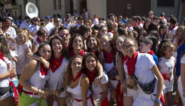 Caparroso arrancó este sábado, 1 de septiembre, sus fiestas patronales en honor a Santa Fe. La agenda festiva se prolongará hasta el día 8