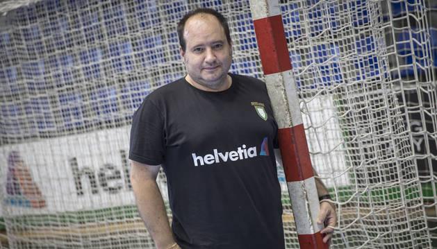 El técnico Iñaki Aniz ha regresado al banquillo del Helvetia Anaitasuna.