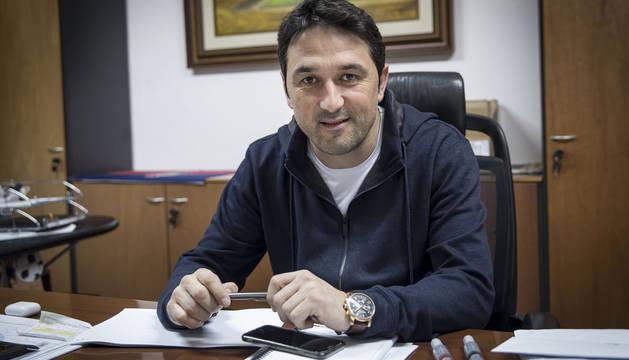 Braulio Vázquez, en su despacho durante una entrevista anterior con este periódico el pasado 21 de noviembre de 2017.