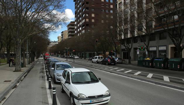 Calle Navas de Tolosa de Pamplona.