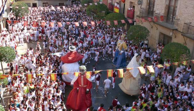 Cohete de las fiestas de Cintruénigo (7 de septiembre)
