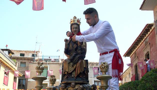 Fotos de la procesión de la Virgen de la Paz de Cintruénigo | 8 de septiembre de 2018
